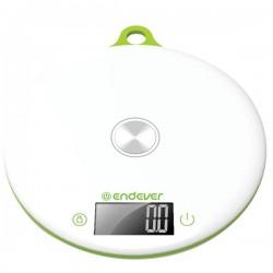 Кухонные весы Endever KS-523 White электронные, пластик, макс. 5кг, точность 1г, авто вкл/выкл