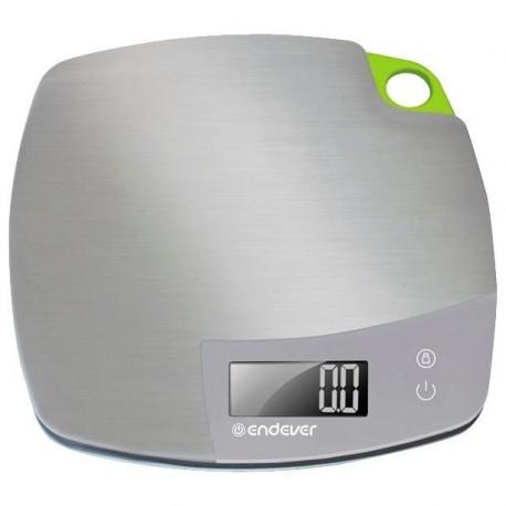 Кухонные весы Endever KS-524 Silver электронные, пластик, макс. 5кг, точность 1г, авто вкл/выкл