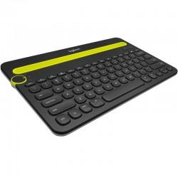 Клавиатура Bluetooth Logitech K480 (920-006368) мембранная, радиус до 10 м, для планшета, Black