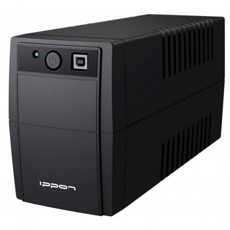 ИБП Ippon Back Basic 650 Euro 360Вт 650ВА черный