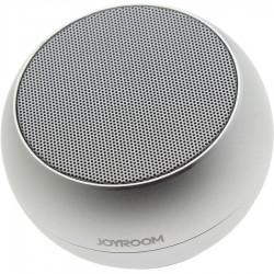 Портативная колонка Joyroom JR-M08 Bluetooth, AUX, mSD, 3Вт, 800mAh Серебро