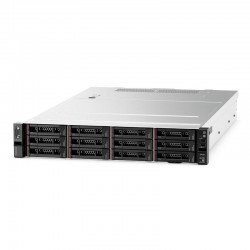 "Lenovo ThinkSystem SR550 Rack 2U, Xeon 4108 8C (1.8GHz/85W), 16GB/1Rx4 RDIMM, noHDD 2,5"" (up to 8/16), SR 530-8i, noDVD, nofree PCI, 2xGbE,1x750W Platinum  p/s (up to 2),1 power cord,XCC Standart"