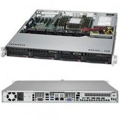 Supermicro SuperServer 1U 5019P-MT noCPU(1)Scalable/TDP 70-205W/ no DIMM(8)/ SATARAID HDD(4)LFF/ 2x10GbE/ 1xFH, M2/ 1x350W