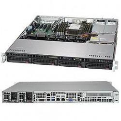 Supermicro SuperServer 1U 5019P-MTR noCPU(1)Scalable/TDP 70-205W/ no DIMM(8)/ SATARAID HDD(4)LFF/ 2x10GbE/ 1xFH, M2/ 2x400W