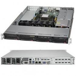 Supermicro SuperServer 1U 5019P-WTR noCPU(1)Scalable/TDP 70-205W/ no DIMM(6)/ SATARAID HDD(4)LFF/ 2x10GbE/ 2xFH, 1xLP, M2/ 2x500W