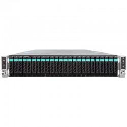 "Intel Server System WOLF PASS 2U R2224WFTZS 952633 2xXeonScalable(max150W)/ DDR4 ECC RDIMM x24/ 24x2,5""/ 2x10GBe/ SWRAID(0,1,10,opt.5)/ 1x1300W redundant PWS"