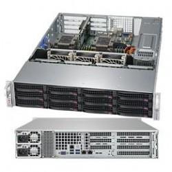 Supermicro SuperServer 2U 6029P-WTRT noCPU(2)Scalable/TDP 70-205W/ no DIMM(12)/ SATARAID HDD(12)LFF/ 2x10GbE/ 3xFH, 2xLP, M2/ 2x1200W