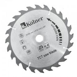 Пильный диск Kolner KSD185*20*24 макс.число оборотов 7600об/мин