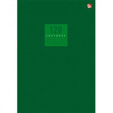 """Тетрадь 120л. кл. """"Стиль и цвет. Зеленый""""  Канц-Эксмо Т51205168"""