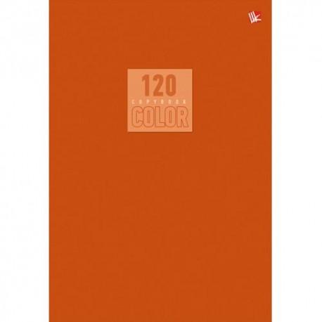 """Тетрадь 120л. кл. """"Стиль и цвет. Оранжевый""""  Канц-Эксмо Т51205175"""