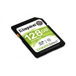 Карта памяти SDXC 128Gb Kingston Canvas Class10 UHS-I U1 (SDS/128GB) 80Mb/s