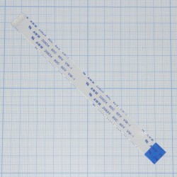Шлейф FPC 120mm 9 pin 1.0mm reverse