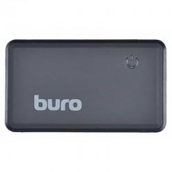 Картридер внешний Buro BU-CR-151 черный