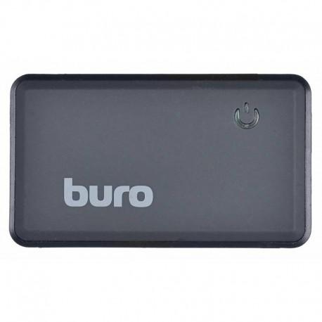Картридер внешний Buro BU-CR-151 черный USB2.0 CF/SD/microSD/MS/MMC