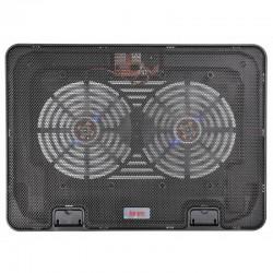 """Охлаждение для ноутбука до 15.6"""" Buro BU-LCP156-B214H Black 2xUSB 2x 140мм FAN"""