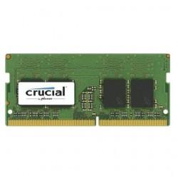 Модуль памяти Crucial by Micron  DDR4   4GB 2400MHz SODIMM  (PC4-19200) CL17 SRx16 1.2V (Retail)