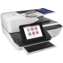 HP Scanjet Enterprise Flow N9120 fn2 Flatbed Scanner (A3,600x600 dpi,24 bit, USB ,ADF 200 sheets, 120ppm A4, Duplex, 1y warr, replace L2683B)