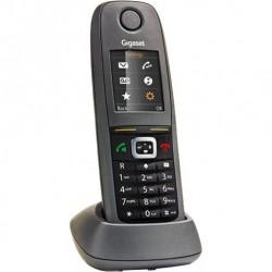 Радиотелефон Gigaset R650H PRO RUS'(комплект: трубка и зарядное устройство, цветной дисплей, IP65, GAP, Cat-Iq 2.0)