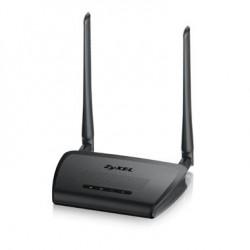 Точка доступа Zyxel Точка доступа/мост/повторитель Zyxel WAP3205 v3, 802.11b/g/n (300 Мбит/с), съемные антенны 5dBi, 5xLAN