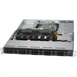 Supermicro SuperServer 1U 1029P-WTRT noCPU(2)Scalable/TDP 70-165W/ no DIMM(12)/ SATARAID HDD(10)SFF/ 2x10GbE/ 2xFH, 1xLP, M2/ 2x750W