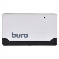 Картридер внешний Buro BU-CR-2102 белый USB2.0 CF/SD/microSD/MS/MMC