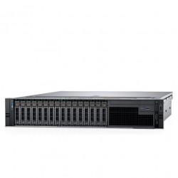 DELL PowerEdge R740 2U/ 8LFF/ 1x4110 (8-Core, 2.1 GHz, 85W)/ 1x16GB RDIMM/ 730P 2GB mC/ 1x1TB 7.2K SATA/ 4xGE/ 1x750W/ RC1/ 4 std FAN/ noDVD/ Bezel noQS/ Sliding Rails/ CMA/ 3YPSNBD