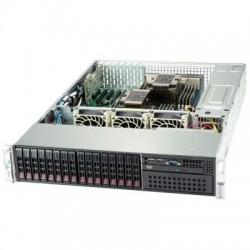 Supermicro SuperServer 2U 2029P-C1R noCPU(2)Scalable/TDP 70-205W/ no DIMM(16)/ 3108RAID HDD(8)SFF +SATARAID HDD(8)SFF/ 2x1GbE/ 5xLP, M2/ 2x1200W