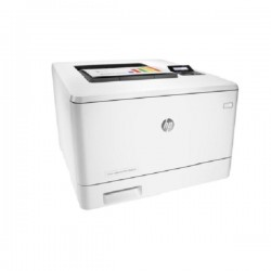 Принтер HP Color LaserJet Pro M452dn Printer (A4,600x600dpi,27(27)ppm,ImageREt3600,128Mb,Duplex, 2trays 50+250,USB/GigEth, ePrint, AirPrint, PS3, 1y warr, 4Ctgs1200pages in box, repl.CE957A)