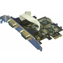 Контроллер PCI-E=>Comx2+1LPT - MS9901 oem