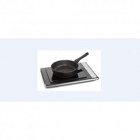 Плита настольная Oursson IG1200B/BL Black 1400Вт, конфорок-1, упр. сенсор.