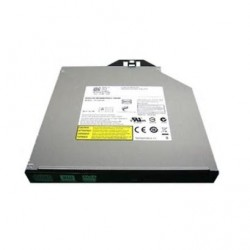 DELL DVD+/-RW Drive, SATA,Internal, 9.5mm, For R740, Cables PWR+ODD include (analog 429-ABCX)
