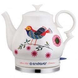 Чайник Endever KR-410C White (1600Вт,1.6л,керамика,закрытая спираль)