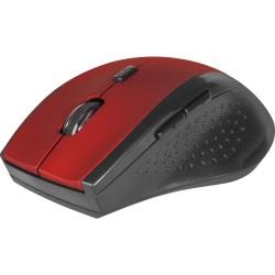 Мышь беспроводная Defender Accura MM-365 оптическая, 1600dpi, 6кн., радиус действия до 10м, Red