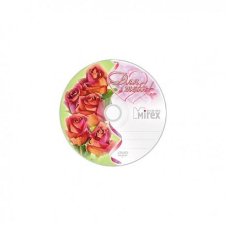 Диск DVD-R   1шт Mirex 4.7Gb 16x Slim UL130003A1S