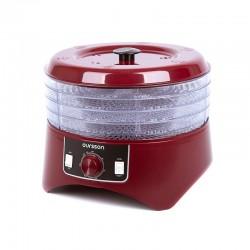 Сушилка для овощей Oursson DH1304/DC Red 400Вт, 4 поддона