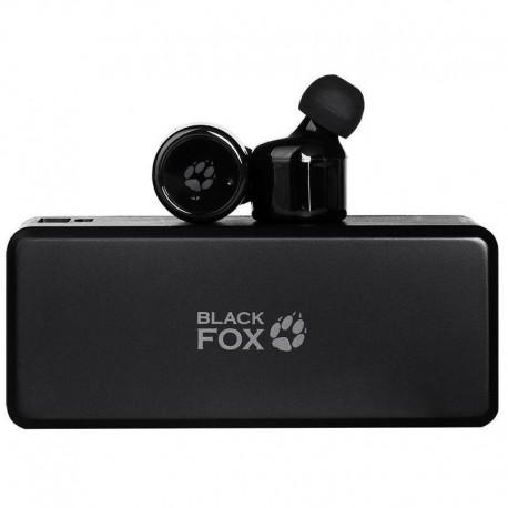 Гарнитура Bluetooth Black Fox BAH-002D вставные, 32Ом, 90дБ, радиус действия до 10м, Black