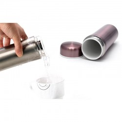 Термос Remax RT-BONO1 Thermos Health Cup, нержавеющая сталь, керамика, пластик, Purple