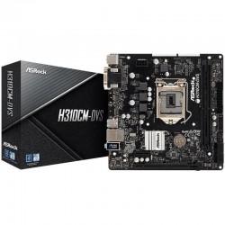 Материнская плата H310 ASRock H310CM-DVS (Socket1151,v2,mATX,2DDR4,SVGA,DVI,PC2666)