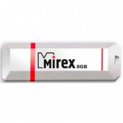Флешка Mirex Knight белый 13600-FMUKWH08 8Gb (USB2.0)