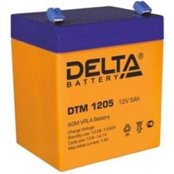 Аккумулятор Delta DTM 1205 (12V, 5Ah)