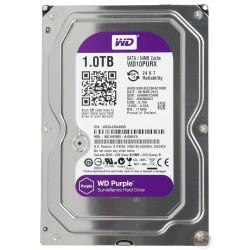Жесткий диск HDD SATA-III 1,0Tb WD WD10PURZ Purple,5400rpm,64Mb