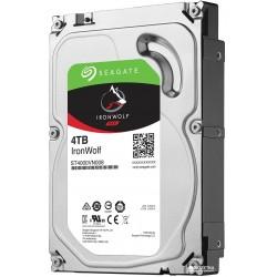 Жесткий диск HDD SATA-III 4,0Tb Seagate ST4000VN008 IronWolf 5900,64Mb