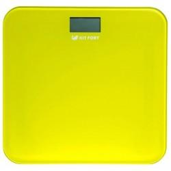 Весы Kitfort КТ-804-4 Yellow стекло, точность 0,1кг, макс. 150кг, авто вкл/выкл
