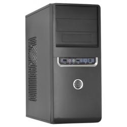 Корпус ATX FOX 2801-BS (Audio+USB,чернo-серебристый,Б/П 450w)