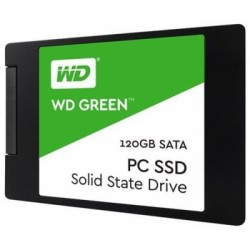 SSD-накопитель 120Гб WD GREEN [WDS120G2G0A] (Silicon Motion SM2258XT,TLC 3D NAND,545/430 Мб/с)