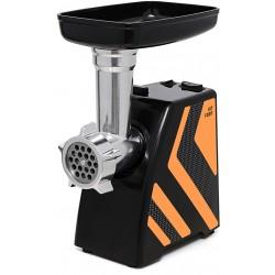 Мясорубка Kitfort КТ-2101-3 Black/orange (1500Вт,1 насадка,2 решетки)