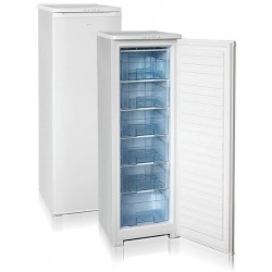 Морозильник Бирюса 116 White, 1 камера, 175л, 48x60.5x145, класс A, ручная разморозка