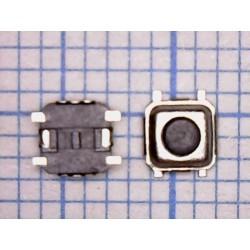 Тактовая кнопка №10 SMD вертикальная (3мм х 3мм х 1.5 мм)