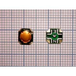Тактовая кнопка №05 SMD мембранная (6мм x 6.5мм x 0.5 мм)