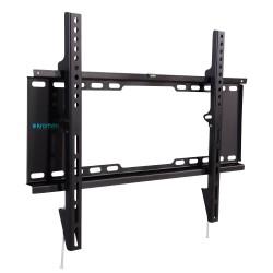 """Кронштейн Kromax IDEAL-101 черный настенный,32-90"""",до 40кг,от стены 30мм,фиксированный"""